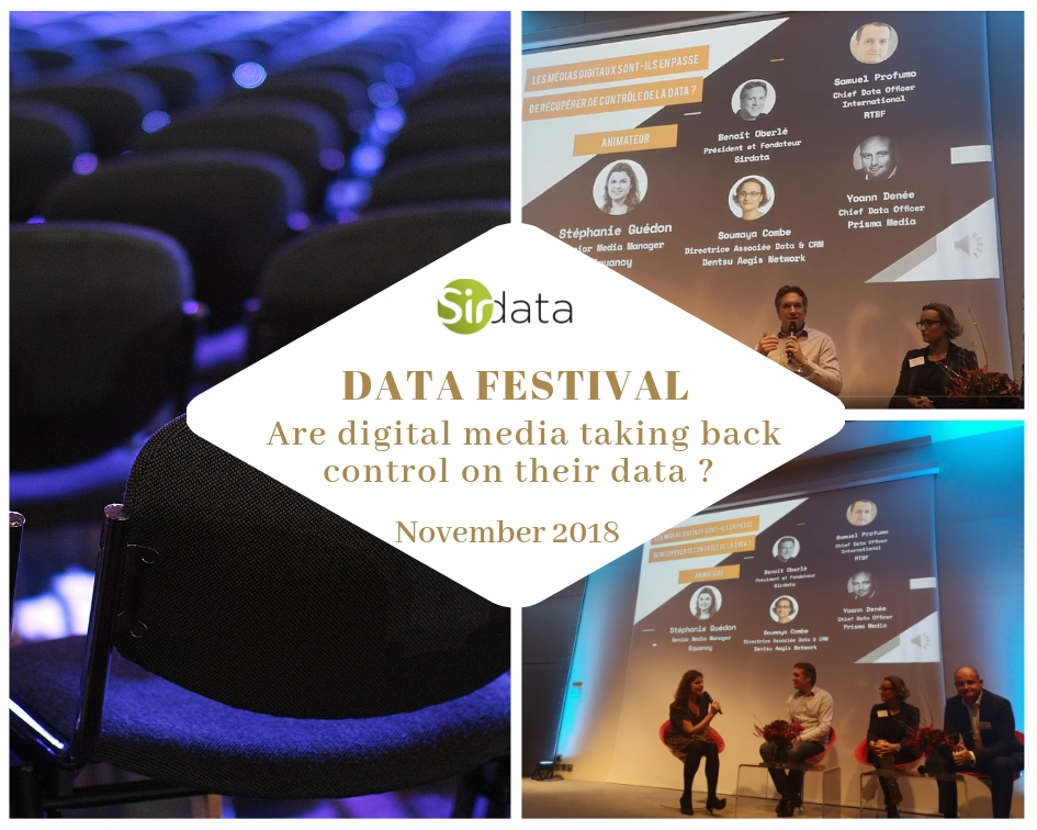 """Data Festival 2018 - Panel discussion """"Are publishers taking back control ?"""""""