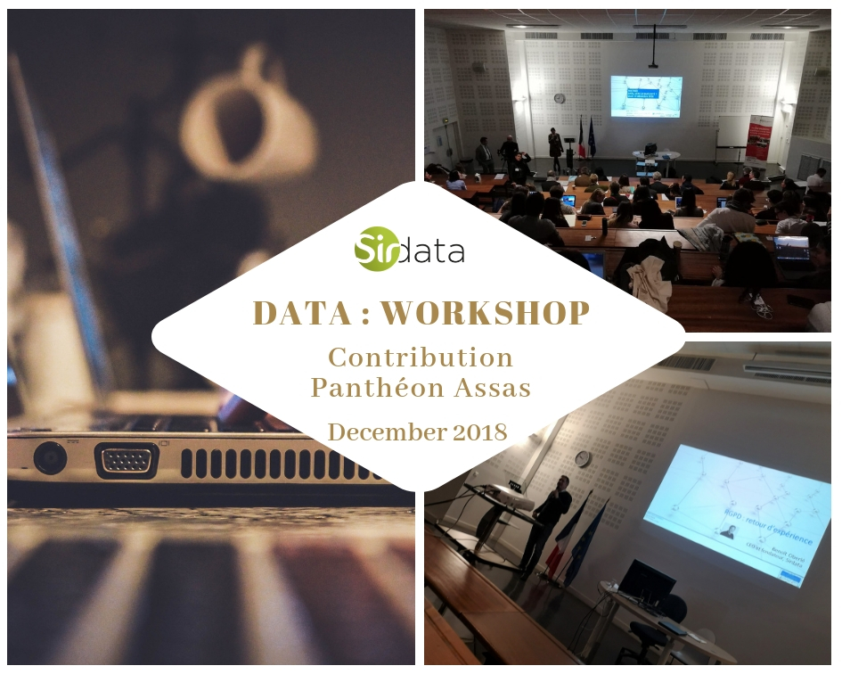 "Sirdata 's founder was invited to speak at annual ""IREP"" meeting on data at Panthéon Assas"