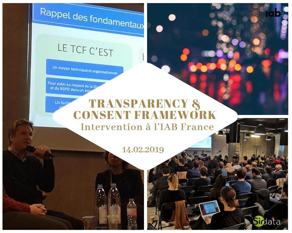 Atelier IAB France autour du Transparency and Consent Framework (TCF) chez LeBonCoin