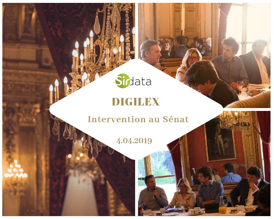 Table ronde Digilex au Sénat -  Enjeux autour d'ePrivacy