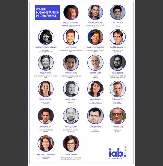 Sirdata rejoint le Conseil d'Administration de l'IAB France