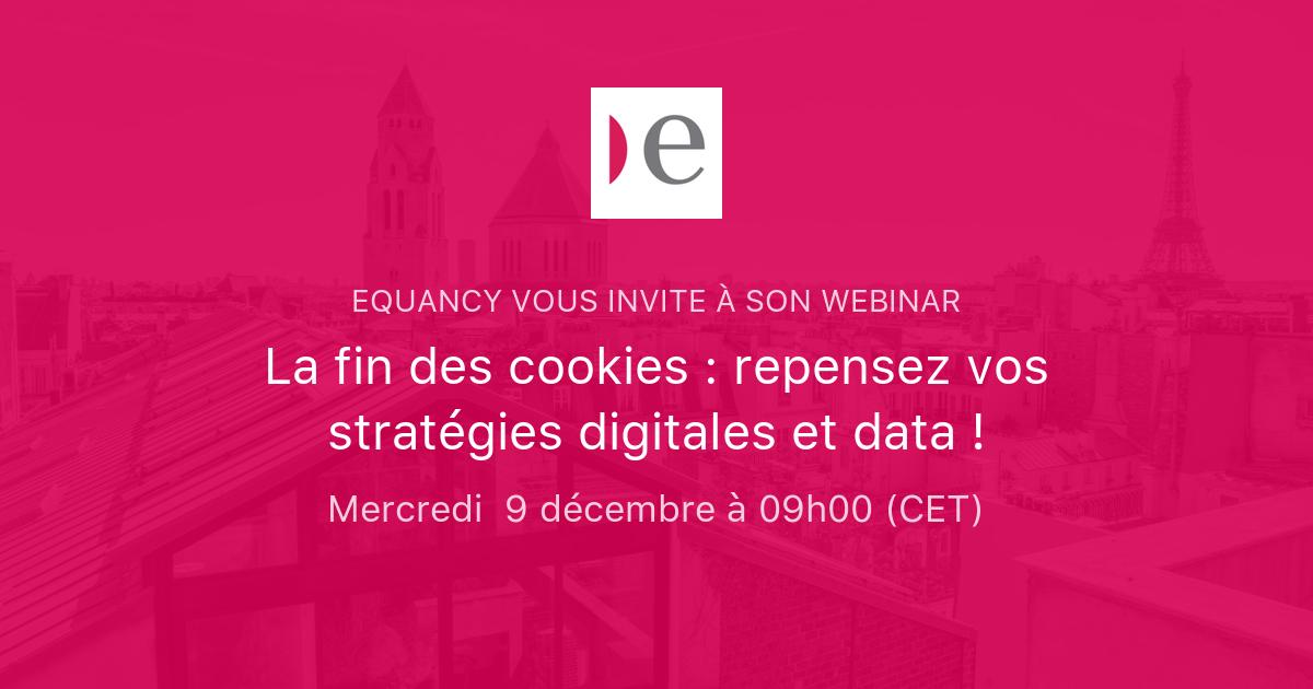 La fin des cookies : repensez vos stratégies digitales et data