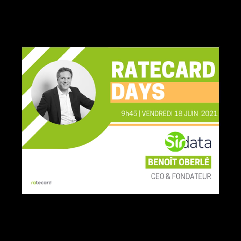 Ratecard Days - Benoît Oberlé